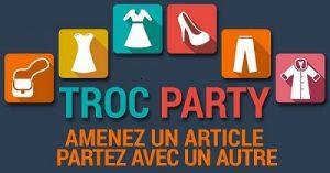 Du Vide-dressing au Troc party !